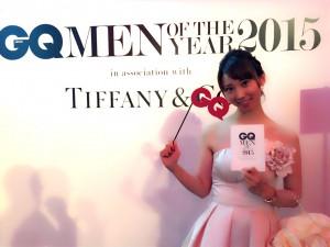 2015年最も輝いた男たち に送られる賞「GQ Men of the Year 2015」授賞式に行ってきました!