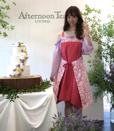 Afternoon Tea新作エプロン発表会へ行ってきました(^^*)